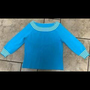 Tops - Blue sweater blouse